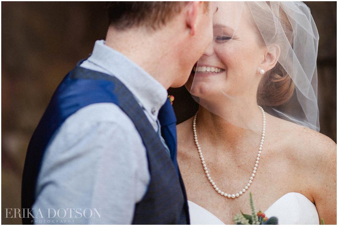 romantic wedding portraits by erika dotson photography at matt lane farm