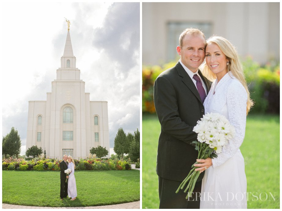 Kansas City Temple Wedding Photography