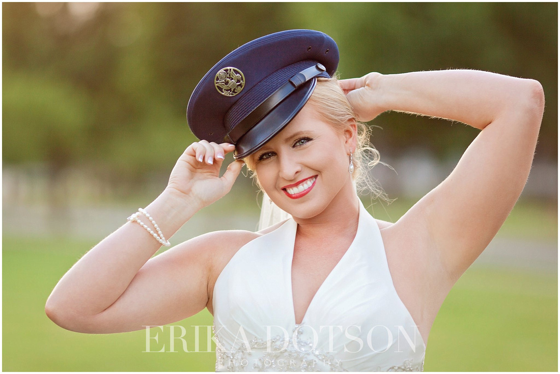 Military themed bridals